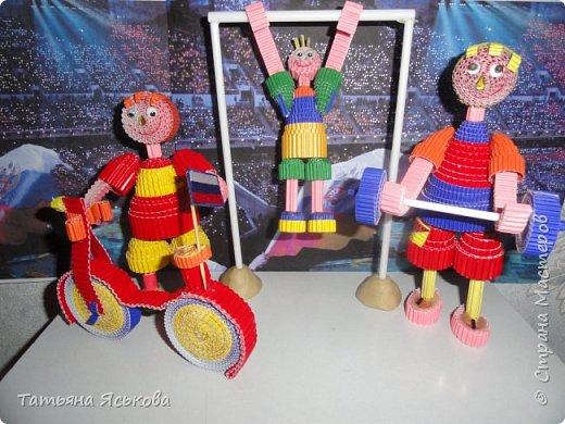 Здравствуйте! Вас приветствуют велосипедист, штангист, гимнаст на перекладине. фото 10