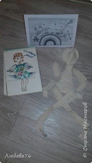 вот какой Ангел у нас получился в итоге совместной работы с Даниилом. фото 2