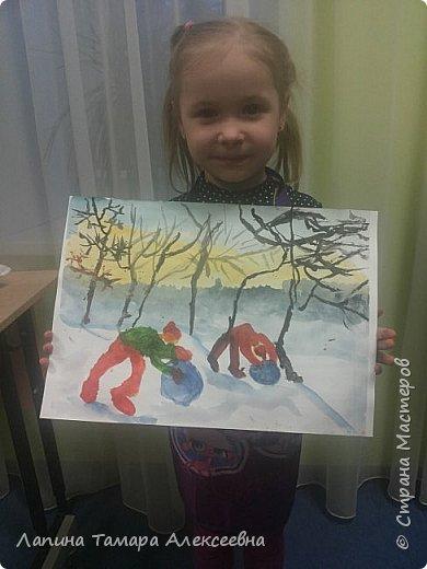 Доброе время суток! Любим зимой на Кумысной поляне не только снеговика лепить с Ангелиной, но и соревноваться кто слепит больше снежный ком.    фото 7
