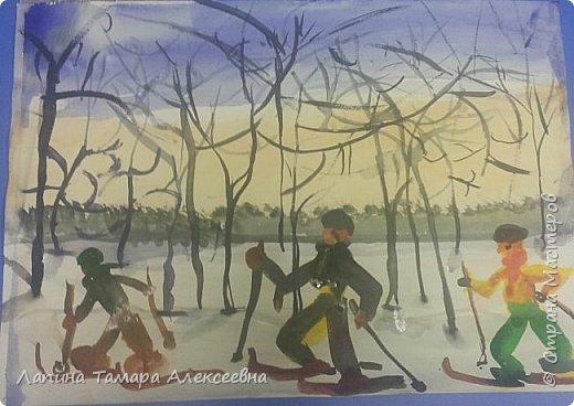 Всей семьёй на лыжи! фото 1