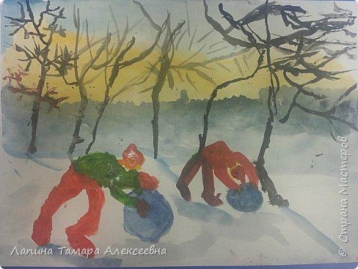Доброе время суток! Любим зимой на Кумысной поляне не только снеговика лепить с Ангелиной, но и соревноваться кто слепит больше снежный ком.    фото 1