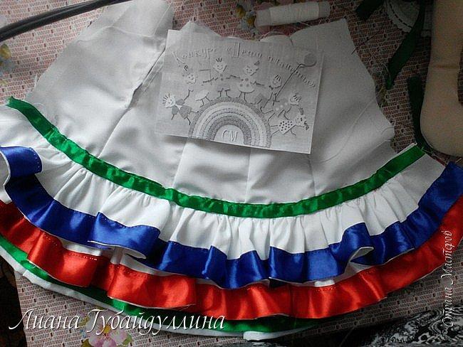 Я живу в многонациональной Республике Башкоротостан,где проживают люди 160 национальностей,я решила сделать башкирку так,как башкиры являются коренным народом Башкортостана  фото 11