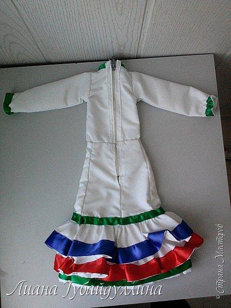 Я живу в многонациональной Республике Башкоротостан,где проживают люди 160 национальностей,я решила сделать башкирку так,как башкиры являются коренным народом Башкортостана  фото 15