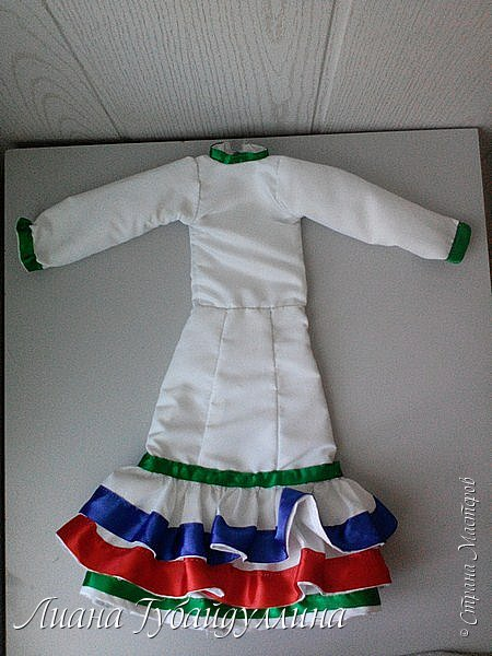 Я живу в многонациональной Республике Башкоротостан,где проживают люди 160 национальностей,я решила сделать башкирку так,как башкиры являются коренным народом Башкортостана  фото 14