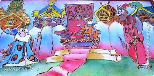 """Здравствуйте мастера и мастерицы Страны мастеров. Узнала про конкурс который проводится  здесь и решила принять участие. Выбрала тему """"Голубой вагон сказок"""". Выбрала потому, что в пять лет на день рождение мне подарили диск со сказкой """"Вовка в Тридевятом царстве"""" и она мне очень полюбилась. фото 7"""