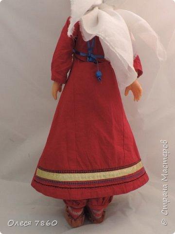 Добрый день. Я сейчас живу в Армении. Интересной и древней стране. И мне захотелось сделать пару кукле в русском костюме. Перед вами кукла в народном армянском костюме района озера Ван фото 5