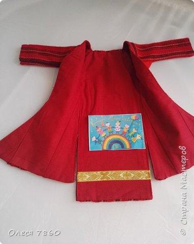 Добрый день. Я сейчас живу в Армении. Интересной и древней стране. И мне захотелось сделать пару кукле в русском костюме. Перед вами кукла в народном армянском костюме района озера Ван фото 13