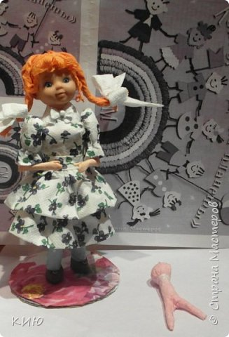 Сюжет, конечно, классический : если девочка, то с куклой... фото 3