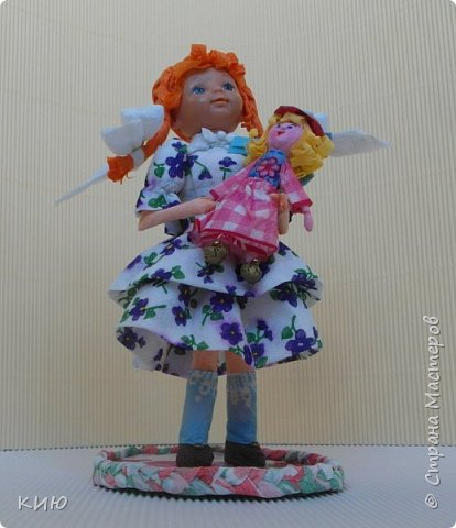 Сюжет, конечно, классический : если девочка, то с куклой... фото 7
