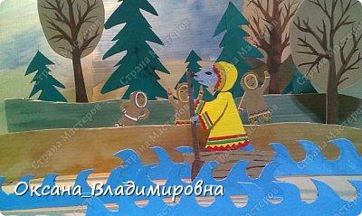 """Здравствуйте. Хочу вас познакомить с хантыйской сказкой """"Мышка на промысле"""" Главный персонаж сказки мышка, её я нарядила в национальную одежду, которая отражает наш самобытный северный край. В нашем городе в рамках фестиваля """"ДУХ ОГНЯ"""" проходил концерт """"ЧИТАЛКИН"""", на который мы всей семьей ходили. На этом концерте дети рассказывали стихи, сказки. Особенно мне понравилась сказка про мышку, которую раскалывали две девочки Катя Лупарева и Зоя Тимофеева. По этой сказке, с голосами чтецов, я создала мультфильм. фото 14"""