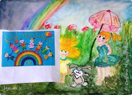 """Приветствуем жителей Страны Мастеров! Спешим поучаствовать в новом и очень интересном конкурсе """"Дети планеты"""". """"Цветочная страна"""",  так назвала свою работу Воронова Александра, ученица 10 класса, в котором я являюсь классным руководителем. Узнав о новом конкурсе, я сразу подумала о Саше. фото 4"""