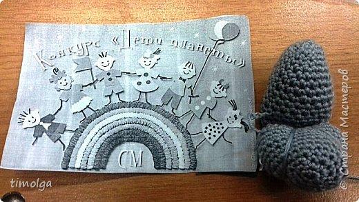 """Здравствуйте, жители Страны Мастеров! Меня зовут Аня. Я люблю заниматься рукоделием, и особенно делать игрушки. Поэтому я захотела принять участие в конкурсе """"Дети планеты"""".  Знакомьтесь: Волк-обжорка. Это герой мультфильма """"Жил-был пёс"""". фото 10"""