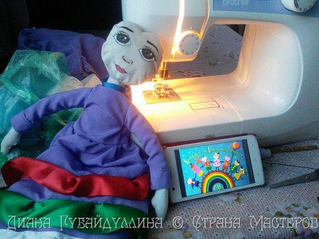 Татары - вторая по численности нация в России после русских.Я по национальности татарка,вот почему мне захотелось сделать именно этот костюм. фото 4