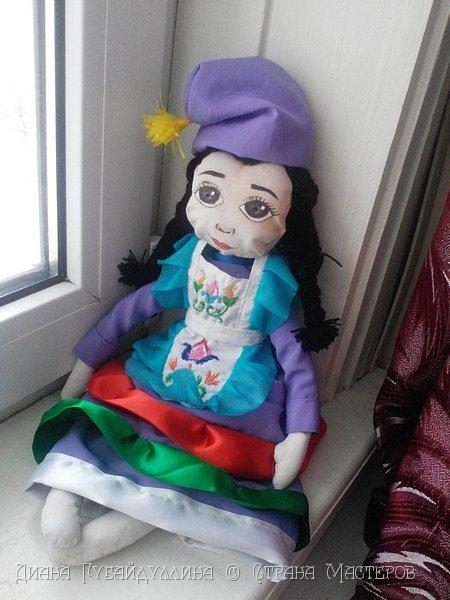 Татары - вторая по численности нация в России после русских.Я по национальности татарка,вот почему мне захотелось сделать именно этот костюм. фото 7