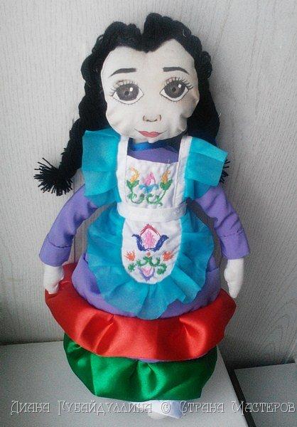 Татары - вторая по численности нация в России после русских.Я по национальности татарка,вот почему мне захотелось сделать именно этот костюм. фото 9