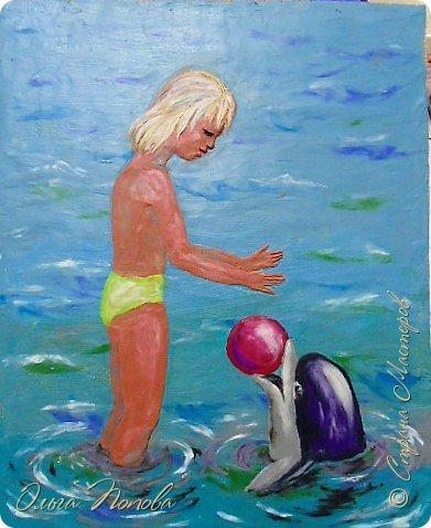 Девочка и дельфин фото 10