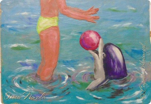 Девочка и дельфин фото 8