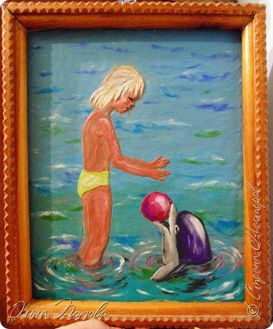 Девочка и дельфин фото 1