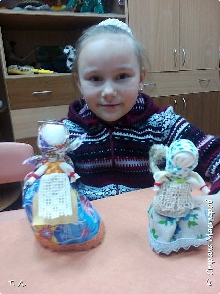 """Лялька """"Вядучка"""" і лялькі на шчасце фото 4"""