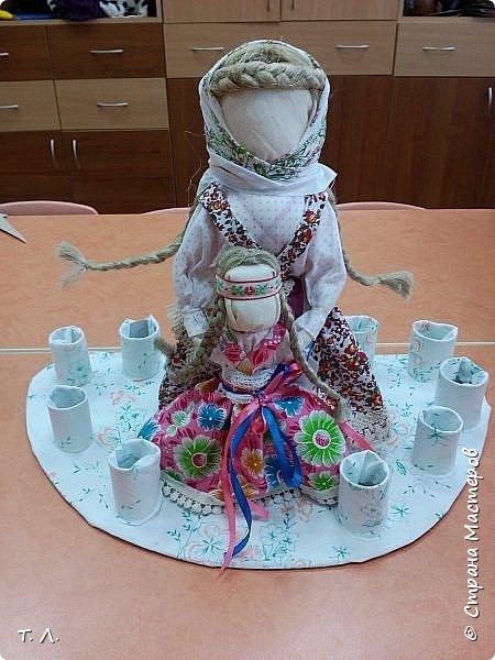 """Лялька """"Вядучка"""" і лялькі на шчасце фото 6"""