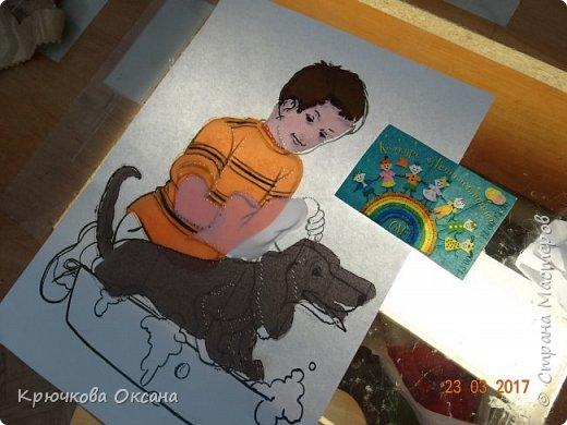 """Всем здравствуйте! Представляем вашему вниманию ещё одну нашу новую работу для конкурса """"Дети планеты""""!  фото 2"""