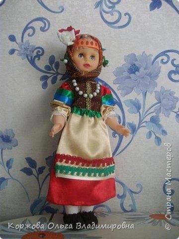 Кукла в костюме казачки-некрасовки. фото 1