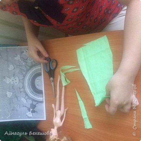 """В преддверии весеннего мусульманского праздника Наурыз был объявлен конкурс """"Дети планеты"""". Поэтому я решила сшить костюм своего народа, казахской девушки. Он состоит из головного убора- саукеле, платья, камзола и обуви. фото 2"""