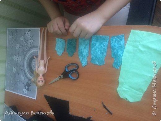 """В преддверии весеннего мусульманского праздника Наурыз был объявлен конкурс """"Дети планеты"""". Поэтому я решила сшить костюм своего народа, казахской девушки. Он состоит из головного убора- саукеле, платья, камзола и обуви. фото 4"""