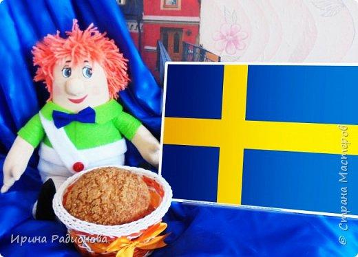 На этот замечательный конкурс я решила сделать Карлсона. Перед этим  изучила некоторые факты о нем  и узнала много интересного.  Оказывается у Карлсона не было имени , потому что Карлсон это фамилия и она очень распространенная в Швеции. Карлсон жил в столице Швеции Стокгольме , в том же районе , что и писательница Астрид Линдгрен на крыше многоквартирного дома . У Карлсона там находится его маленький домик  фото 11