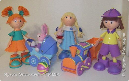 Игрушки любят дети, вы знаете друзья, ведь без игрушек детям, никак, никак нельзя!!! Таня, Оля и Серёжка, озорные малыши, принесли с собой игрушки, до чего ж все хороши! фото 1