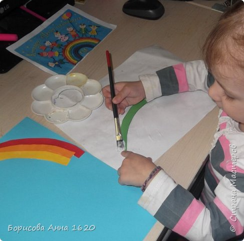 Здравствуйте, жители Страны мастеров. Представляю вам работу своей дочки.  фото 7