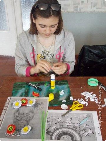 Здравствуйте мастера и мастерицы, живущие в Стране Мастеров! Представляем вашему вниманию маленькую украиночку - озорную и смешливую. фото 3