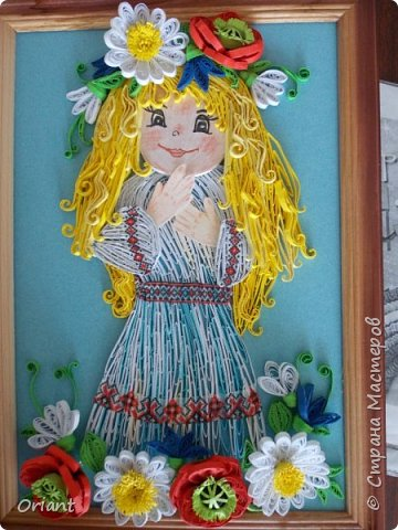 Здравствуйте мастера и мастерицы, живущие в Стране Мастеров! Представляем вашему вниманию маленькую украиночку - озорную и смешливую. фото 1