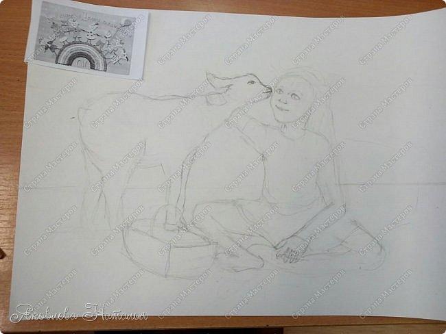 Представляю вашему вниманию работу ещё одной ученицы - Валерии. фото 2
