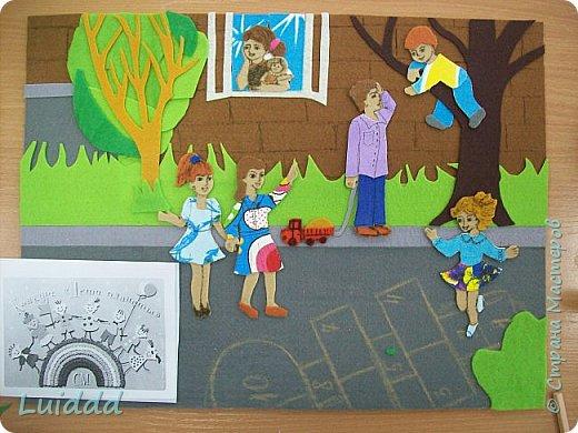 """Доброго всем дня. Продолжаю  тему  игр советского детства. На этот раз представляю вашему вниманию работу """"Во дворе"""".  фото 7"""