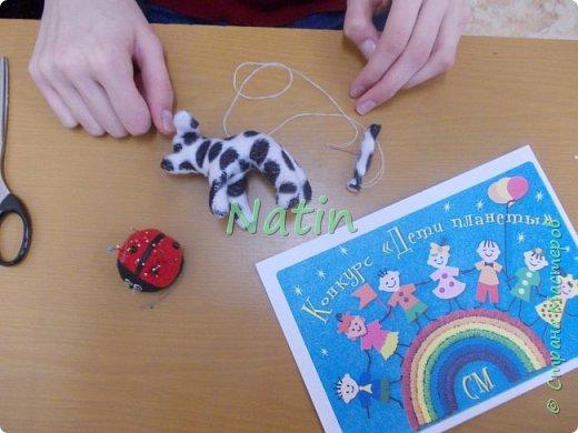 """Кто из нас в детстве не мечтал о собаке?  Лиза сразу выбрала  тему конкурса """"Дети и животные"""" фото 7"""