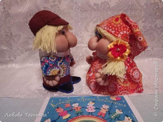 Здравствуйте, жители Страны Мастеров! Хочу познакомить вас с Иваном и Марьей, известными персонажами многих русских народных сказок. фото 9