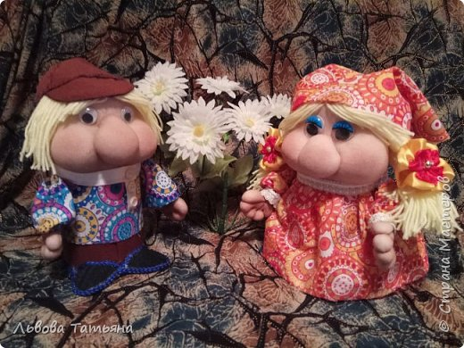 Здравствуйте, жители Страны Мастеров! Хочу познакомить вас с Иваном и Марьей, известными персонажами многих русских народных сказок. фото 1