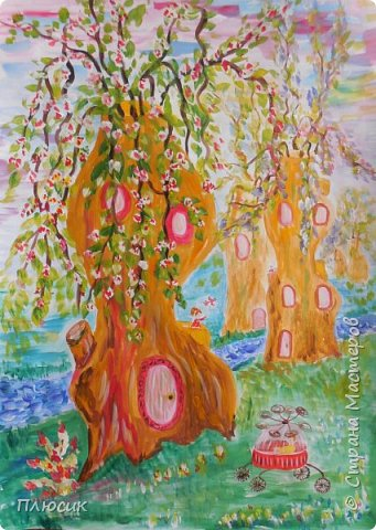 Это город будущего. На улице весна! Люди живут в деревьях!  фото 11