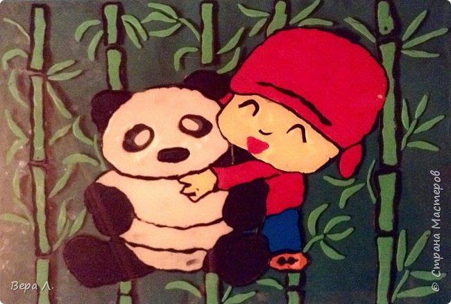 """Сию, что в переводе с китайского означает """"размышляющий о мире"""", подарили большую панду... фото 5"""