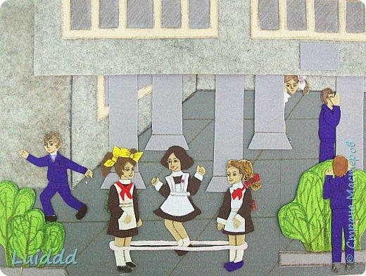 """""""Откуда мы родом? Мы родом из детства, словно из какой-нибудь страны… Я не очень уверен, что жил после того, как прошло детство"""" А. де Сент-Экзюпери Добрый вечер, жители страны. Хочу представить вам свою работу, в которой изобразила игры нашего советского детства. Надеюсь вы узнали игру в резиночку и прятки... фото 1"""