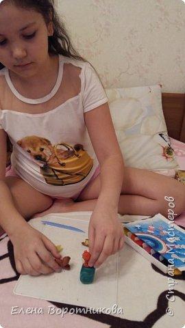 Настя очень любить своих домашних питомцев. фото 6