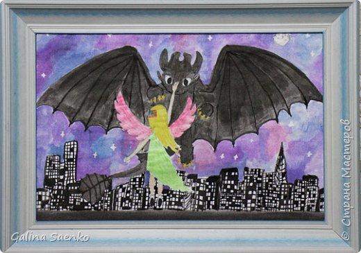 """Малика изобразила героев своего любимого анимационного фильма производства студии «DreamWorks Animation» """"Как приручить дракона"""" фото 1"""