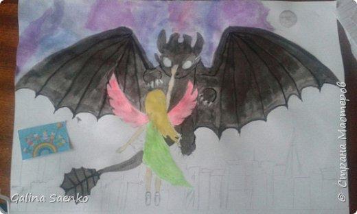"""Малика изобразила героев своего любимого анимационного фильма производства студии «DreamWorks Animation» """"Как приручить дракона"""" фото 5"""