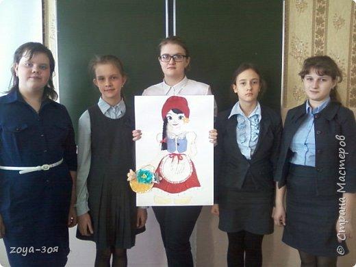 В рамках конкурса «Дети планеты» мы с учениками работали над проектом по французскому языку «Французский народный костюм», который затем разделился на две подтемы. Руководителем проекта является учитель; мои помощники – ученицы 9 класса; участники проекта – шестиклассницы.  фото 14