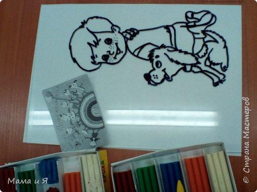 """Узнав о конкурсе, я решил сделать картинку из сказки шведской писательницы Астрид Линдгред """"Малыш и Карлсон, который живёт на крыше"""" в номинации """"Голубой вагон сказок"""", потому что в этом произведении говорится о дружбе. фото 2"""