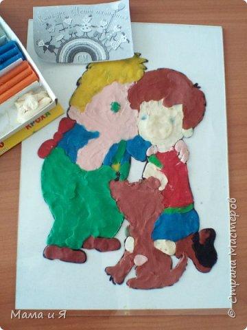 """Узнав о конкурсе, я решил сделать картинку из сказки шведской писательницы Астрид Линдгред """"Малыш и Карлсон, который живёт на крыше"""" в номинации """"Голубой вагон сказок"""", потому что в этом произведении говорится о дружбе. фото 5"""