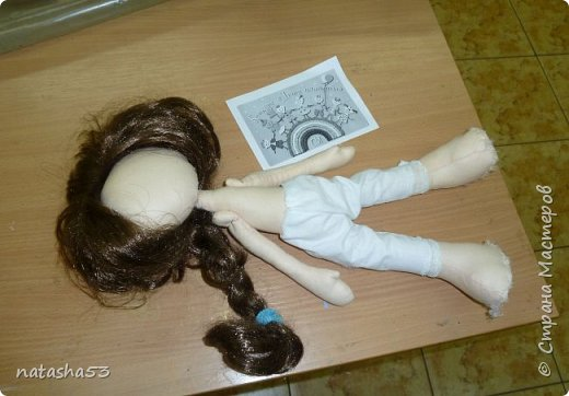 Любимая кукла и не менее любимый мишка фото 5