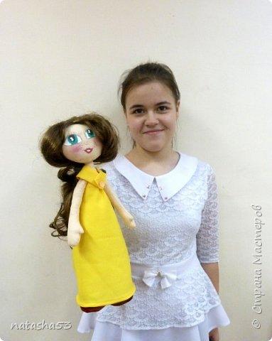 Любимая кукла и не менее любимый мишка фото 7