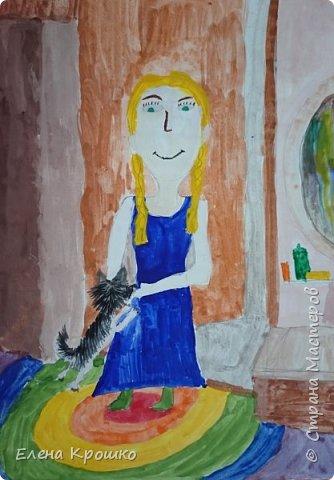 Алина и ее любимая собачка Дина породы чихуахуа. Когда Алина приходит из школы Дина ее встречает у порога и они вместе идут гулять. Дина с Алиной неразлучны 11 лет. фото 1